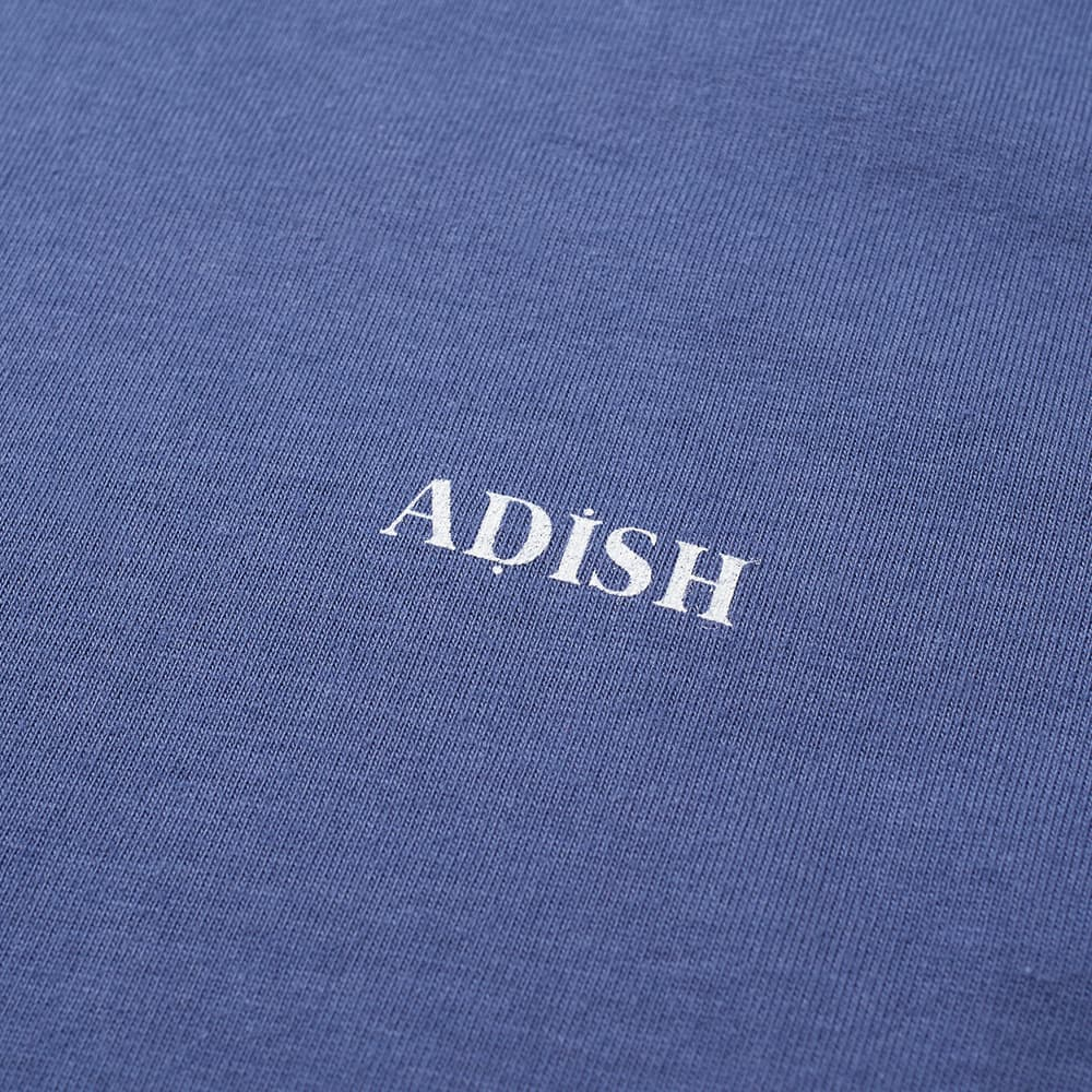 ADISH Long Sleeve Embroidered Sawsana Tee - Blue