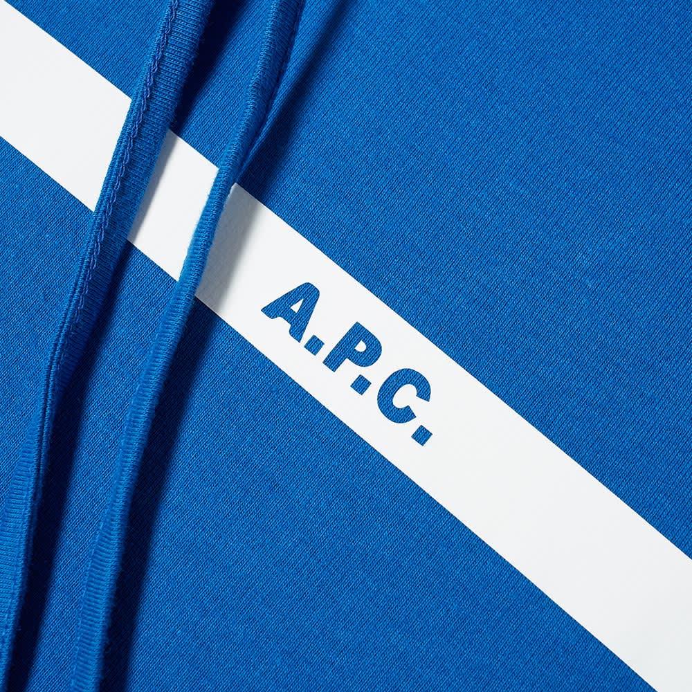 A.P.C. Caserne Popover Hoody - Dark Blue