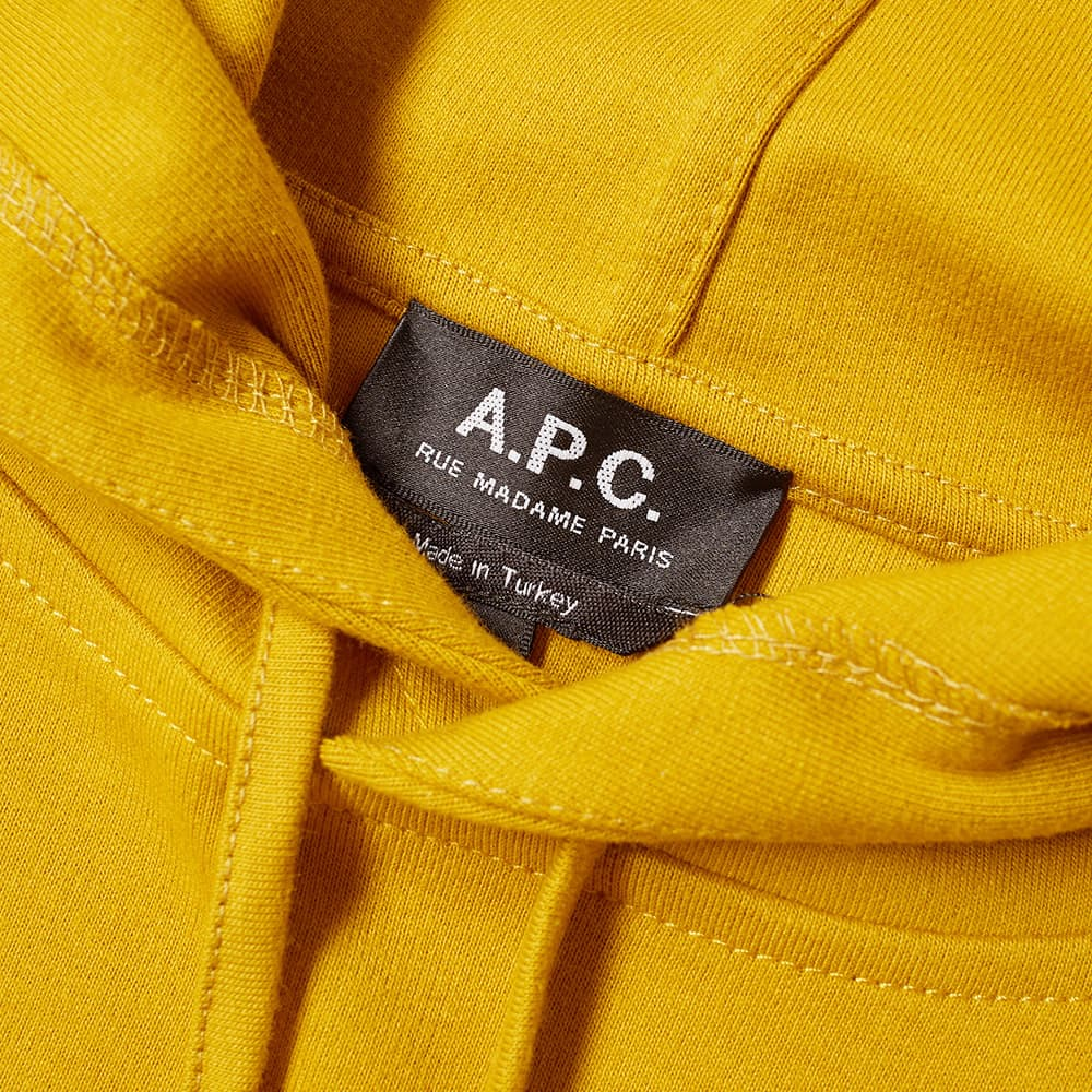 A.P.C. Caserne Popover Hoody - Mustard