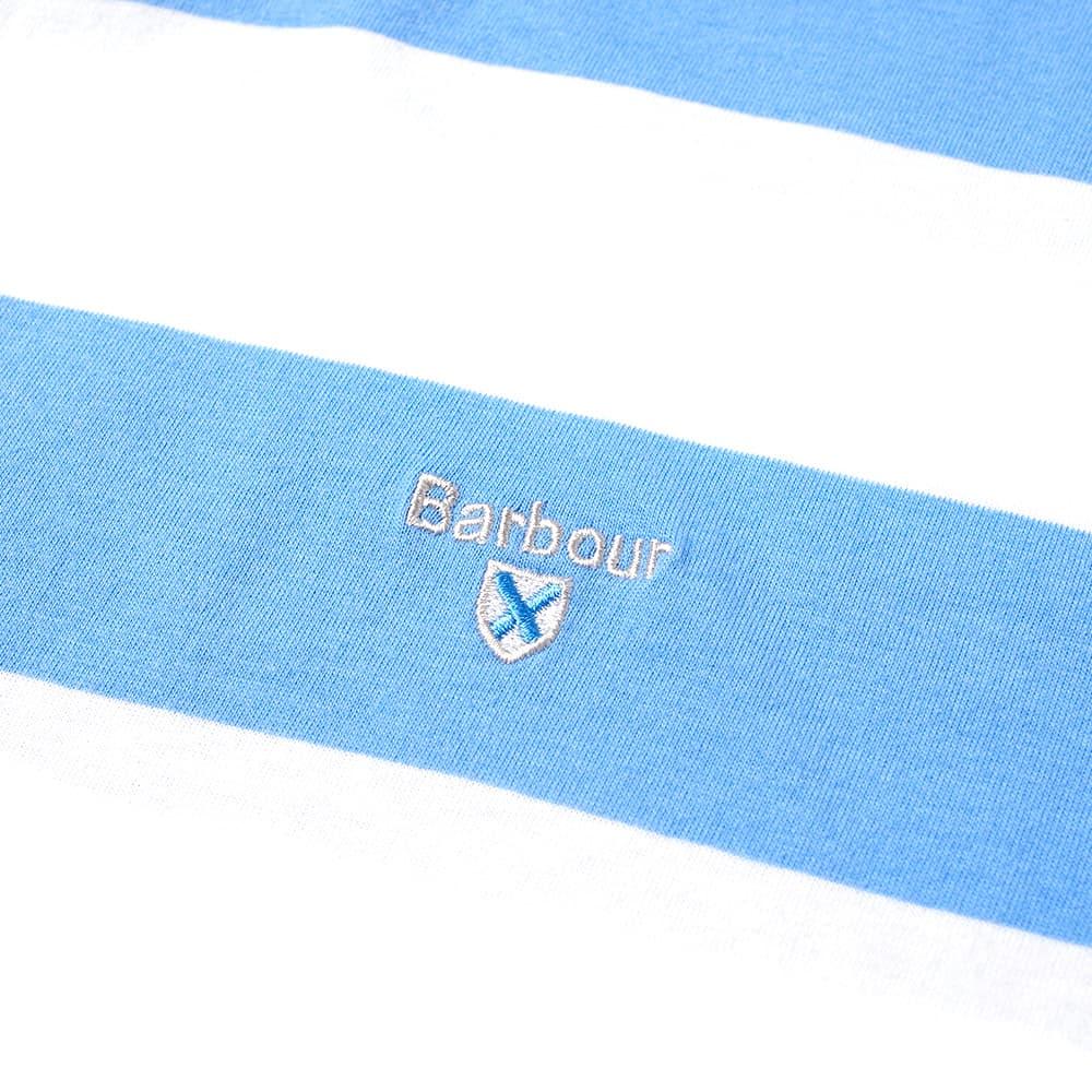 Barbour Beach Stripe Tee - Colorado Blue