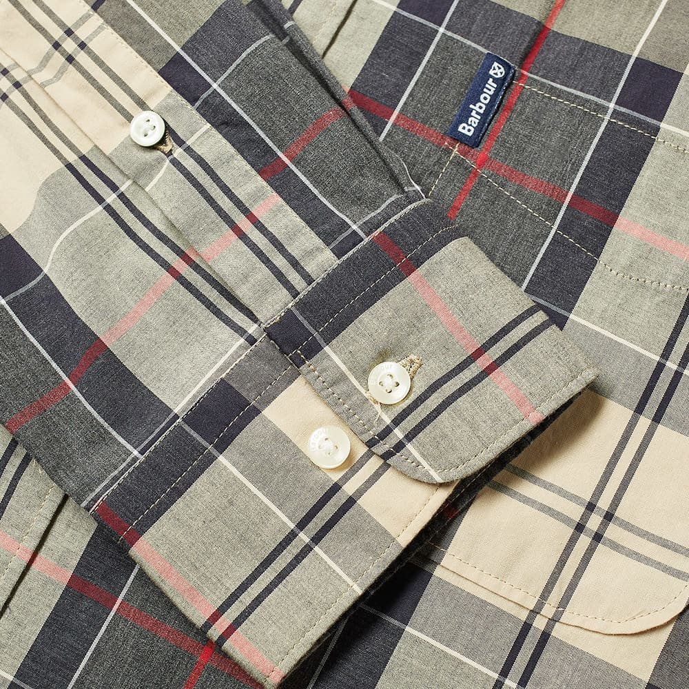 Barbour Sandwood Tartan Shirt - Stone