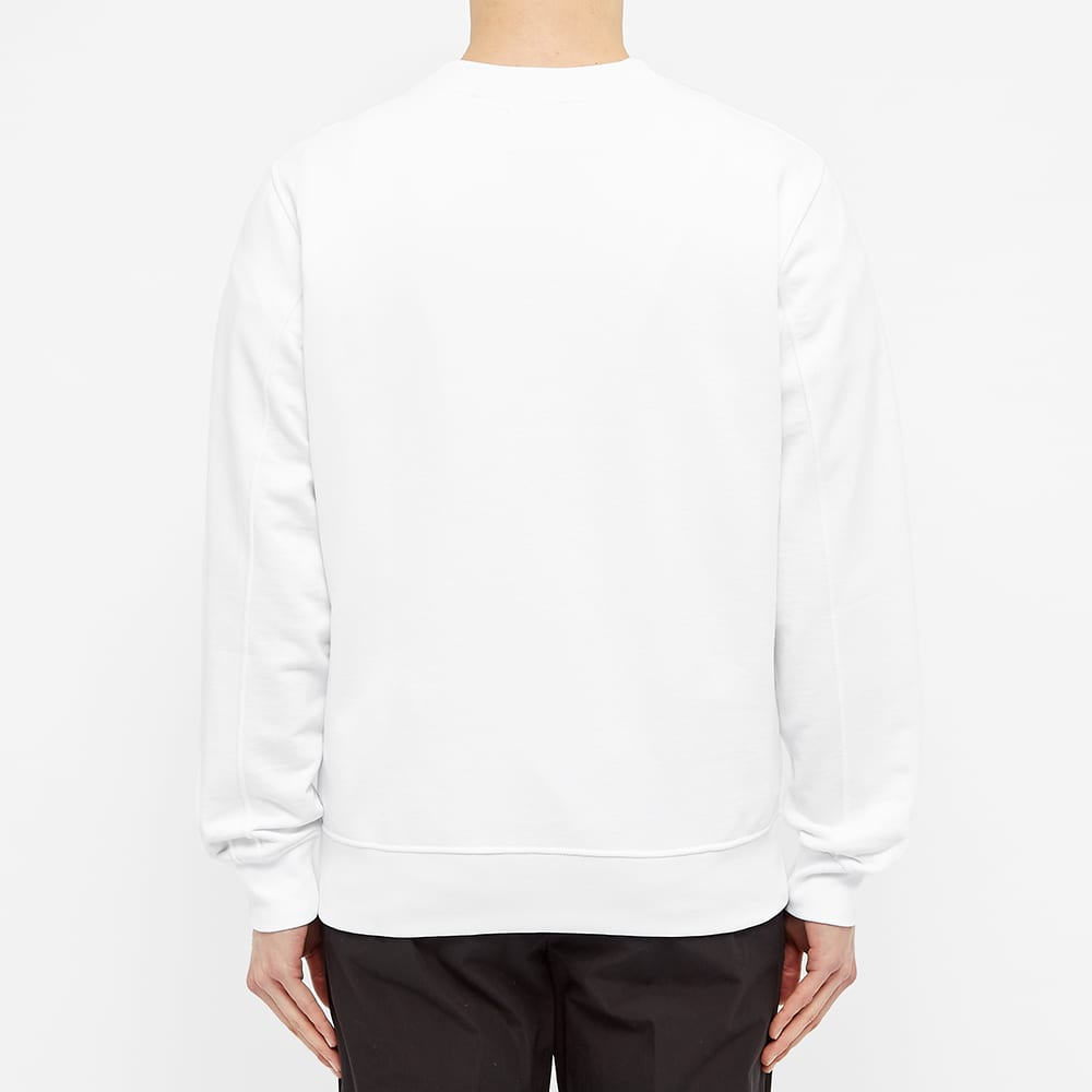 Calvin Klein Embroidered Logo Crew Sweat - White