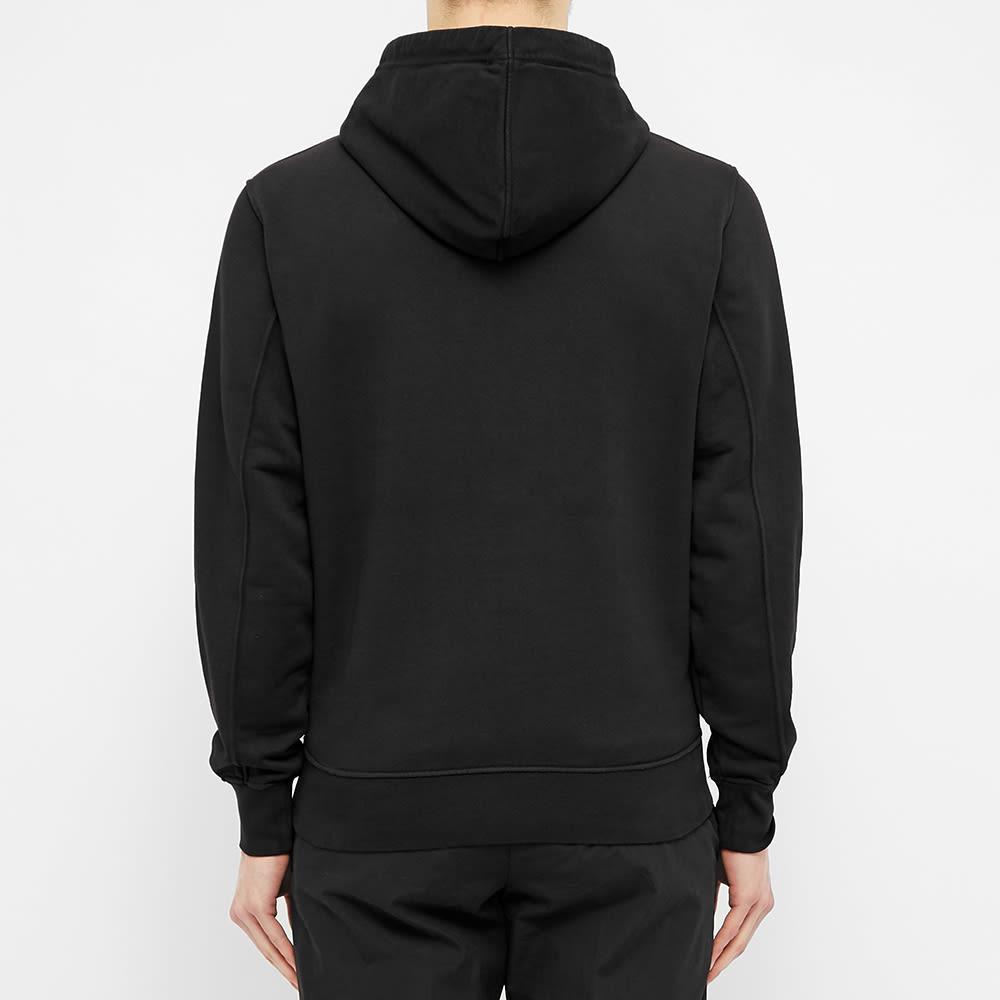 Calvin Klein Embroidered Logo Popover Hoody - Black