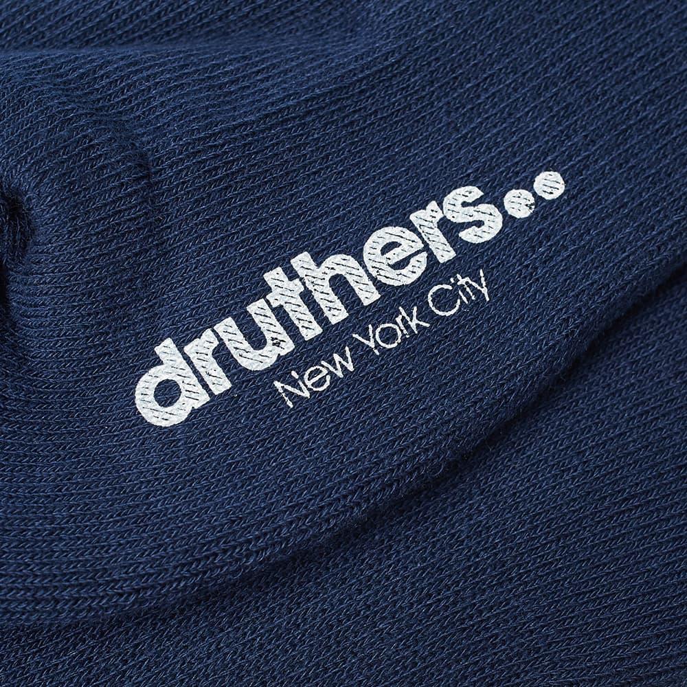 Druthers Everyday Crew Sock - Navy