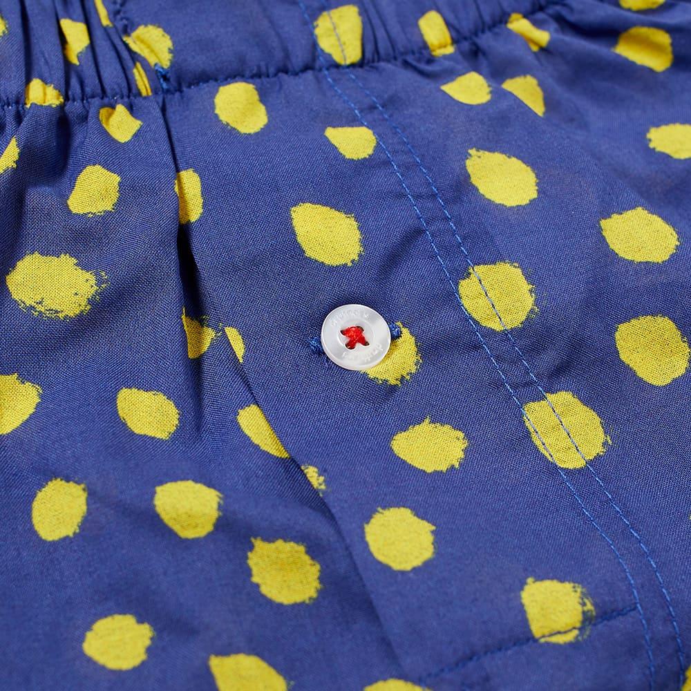 Druthers Marker Dot Boxer Short - Navy