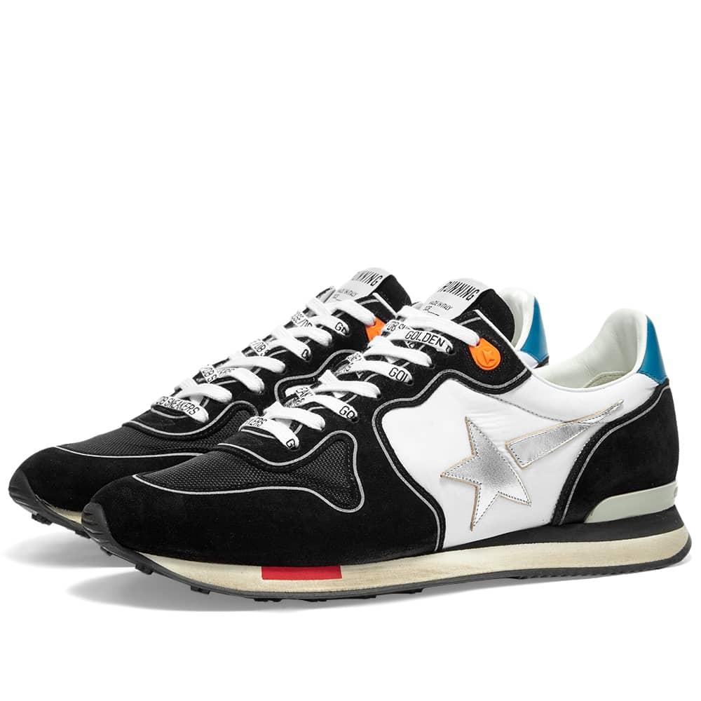 Golden Goose Running Sneaker - Black & White