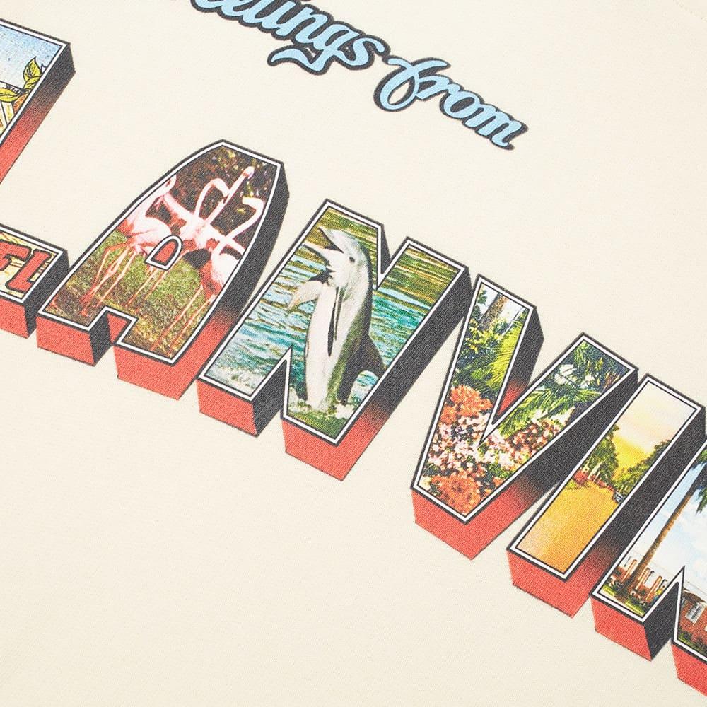 Lanvin Postcard Print Popover Hoody - Ecru