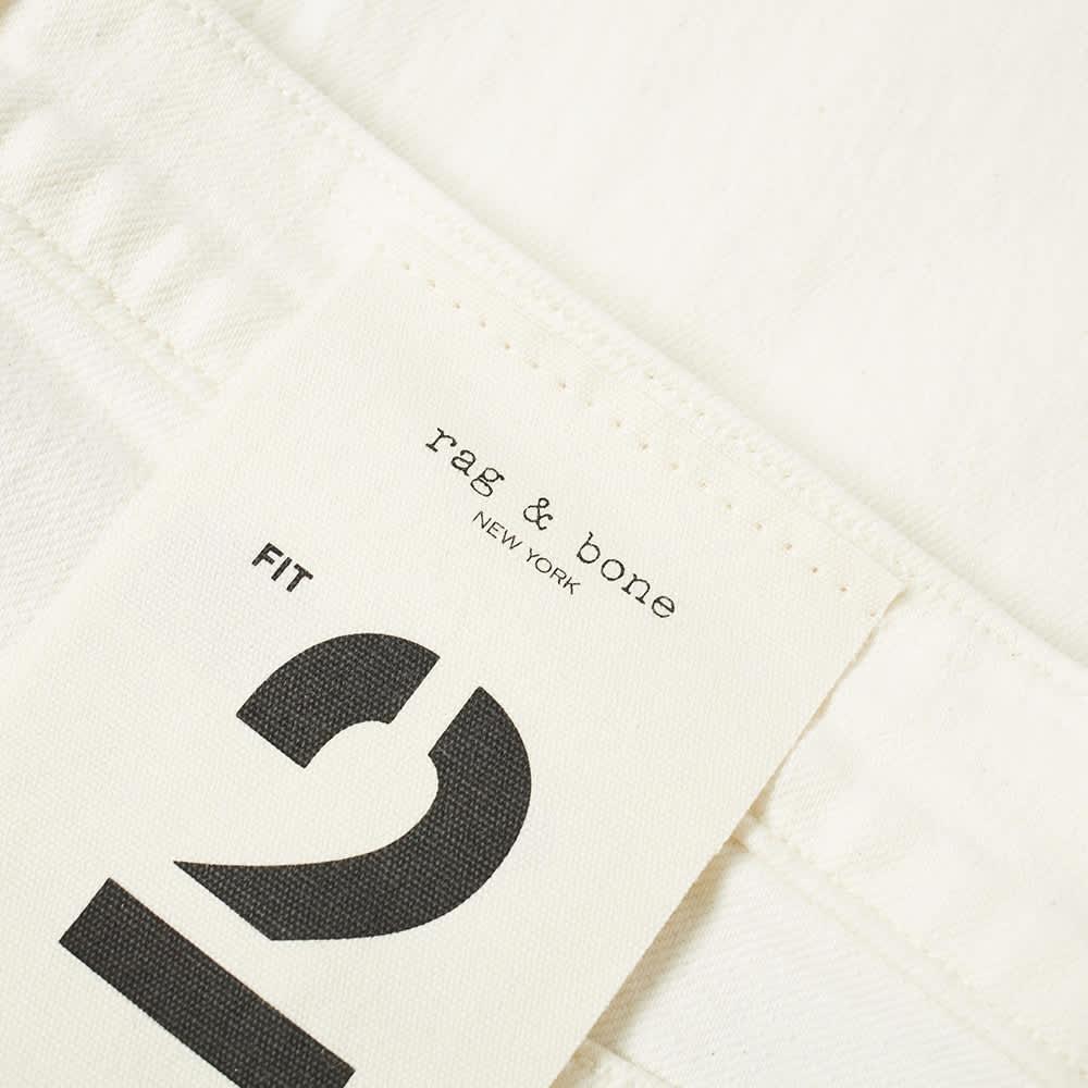 Rag & Bone Slim Fit Jean - Ecru