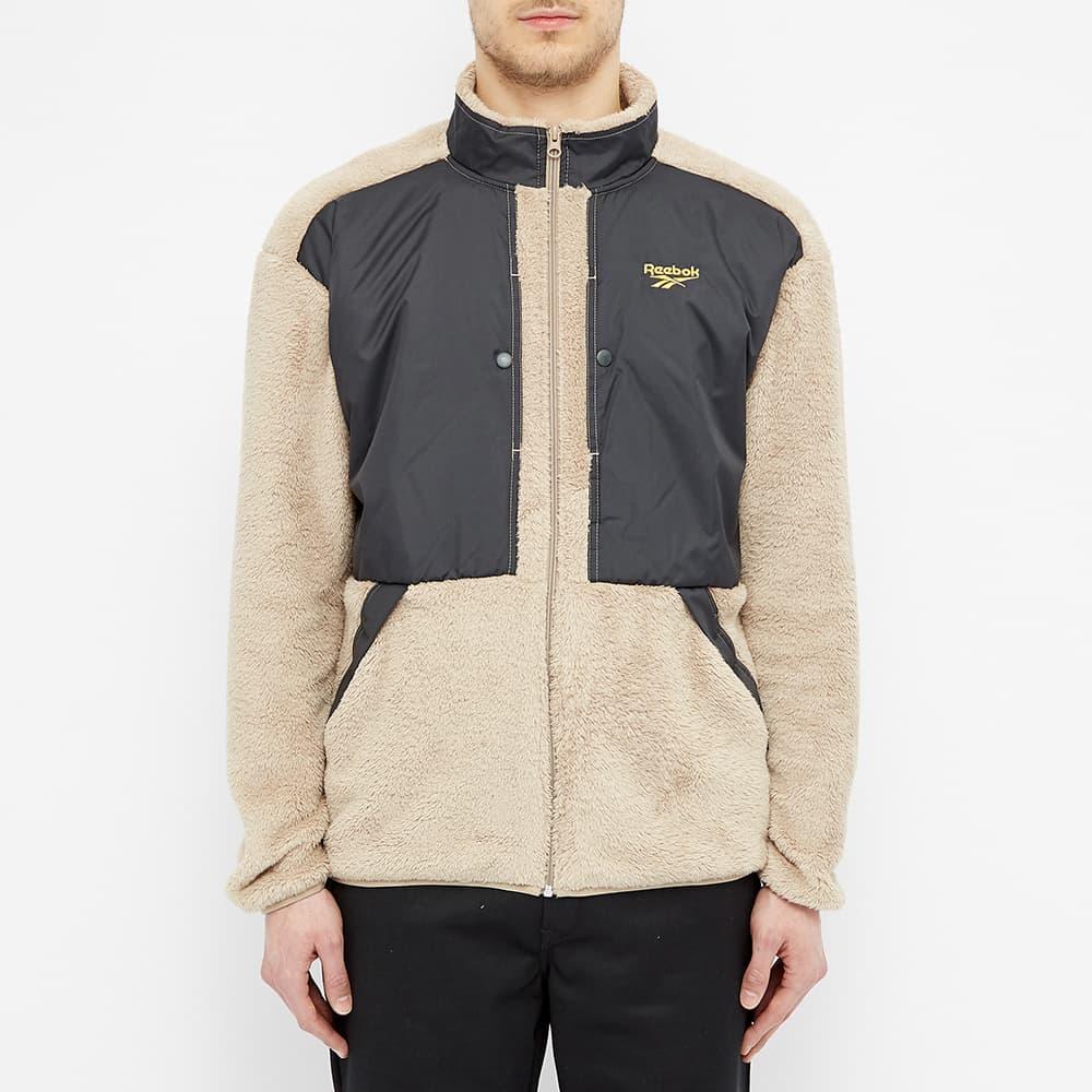 Reebok Trail Fleece Jacket - Sand