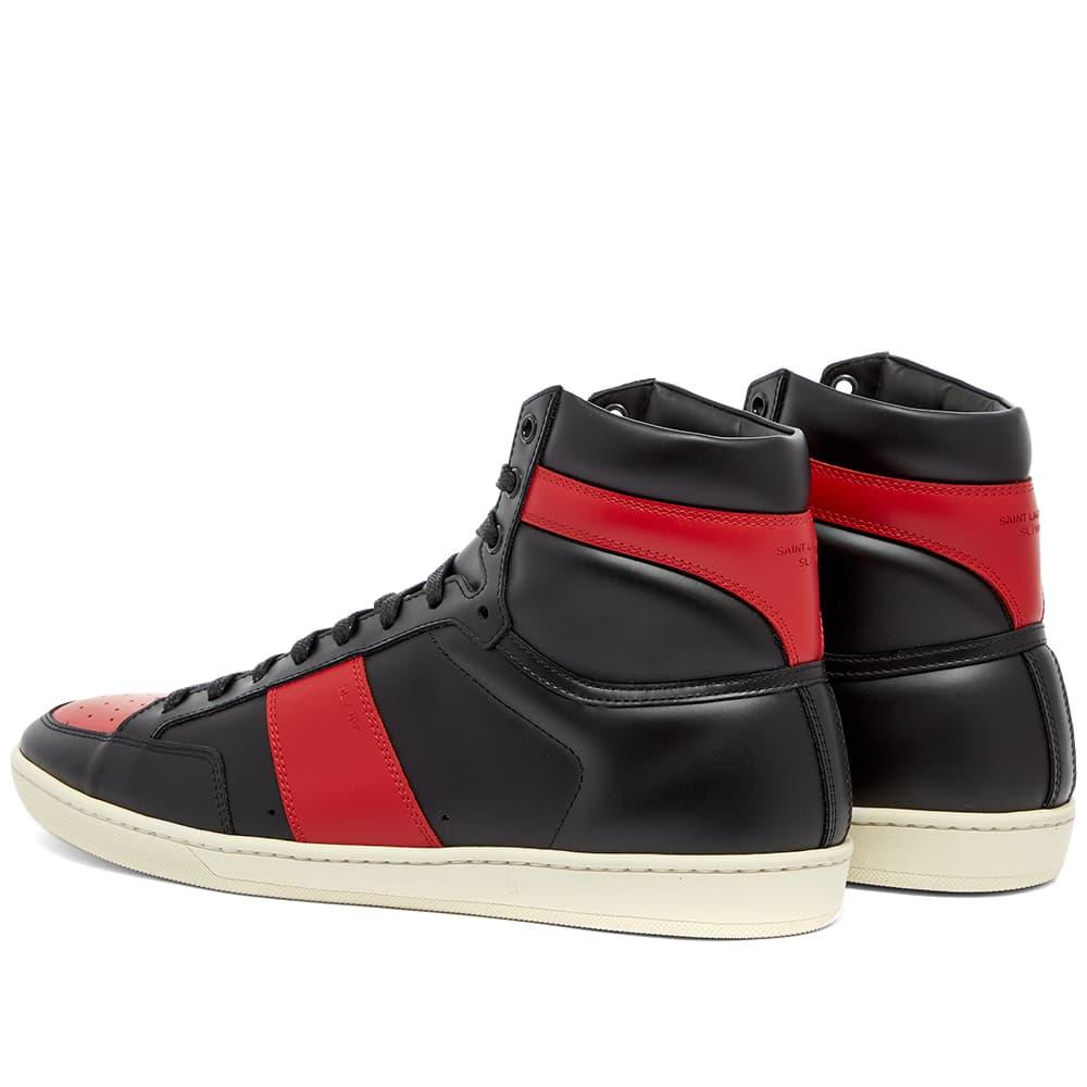 Saint Laurent SL10H Leather Hi Sneaker