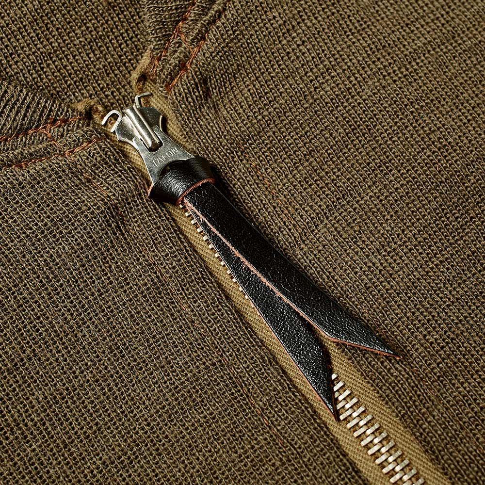 The Real McCoy's Type C-2 Winter Flying Vest - Olive
