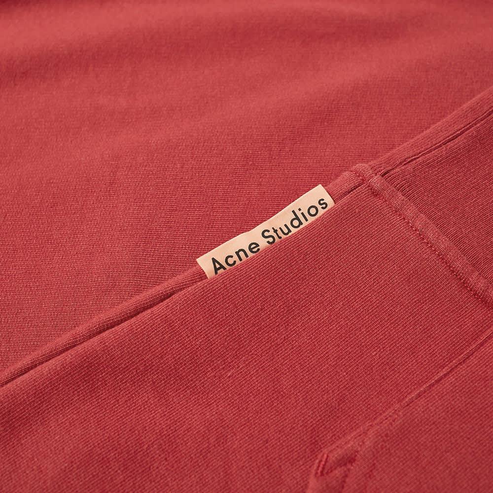 Acne Studios Forres Pink Label Hoody - Burgundy