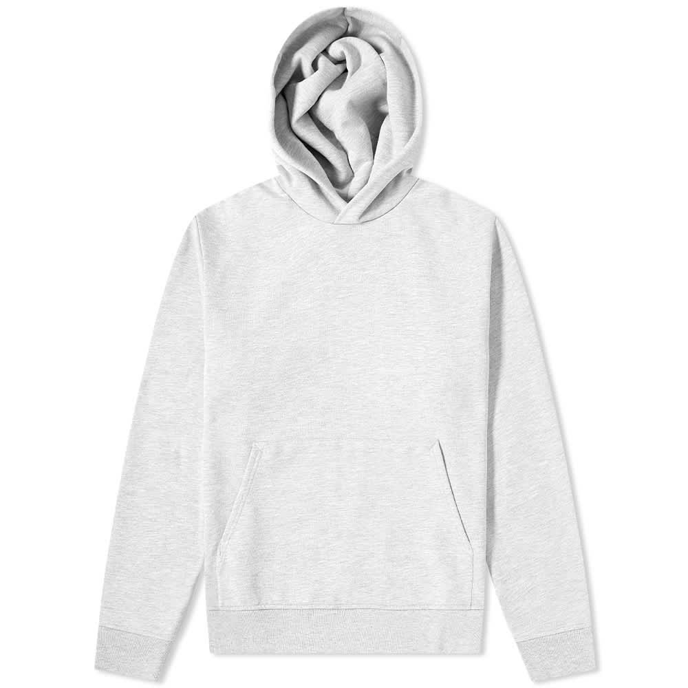 Acne Studios Forres Pink Label Hoody - Pale Grey Melange