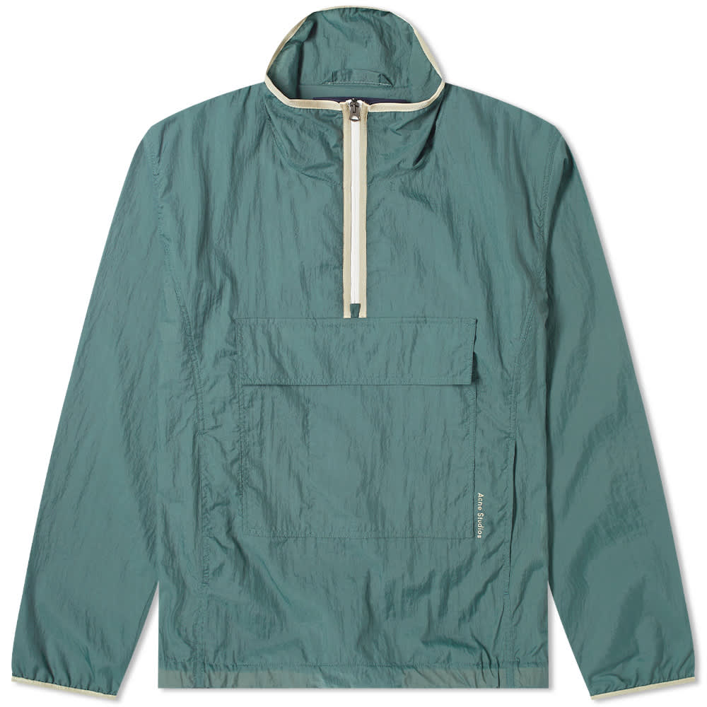 Acne Studios Odion Popover Jacket - Dusty Green