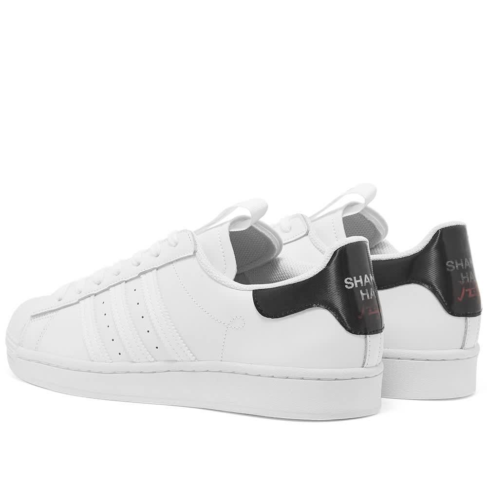 Adidas Superstar 'Shanghai' - Cloud White, Core Black & Pink