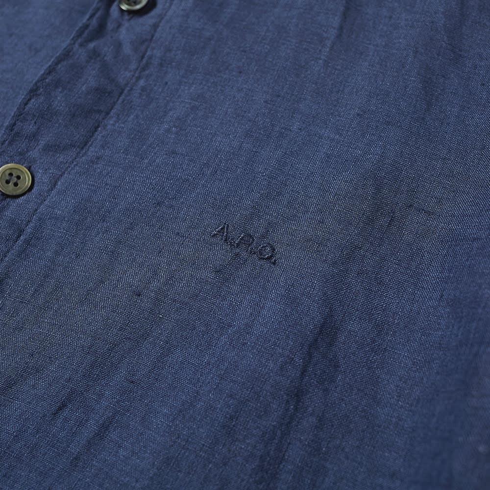 A.P.C. Vincent Logo Shirt - Indigo