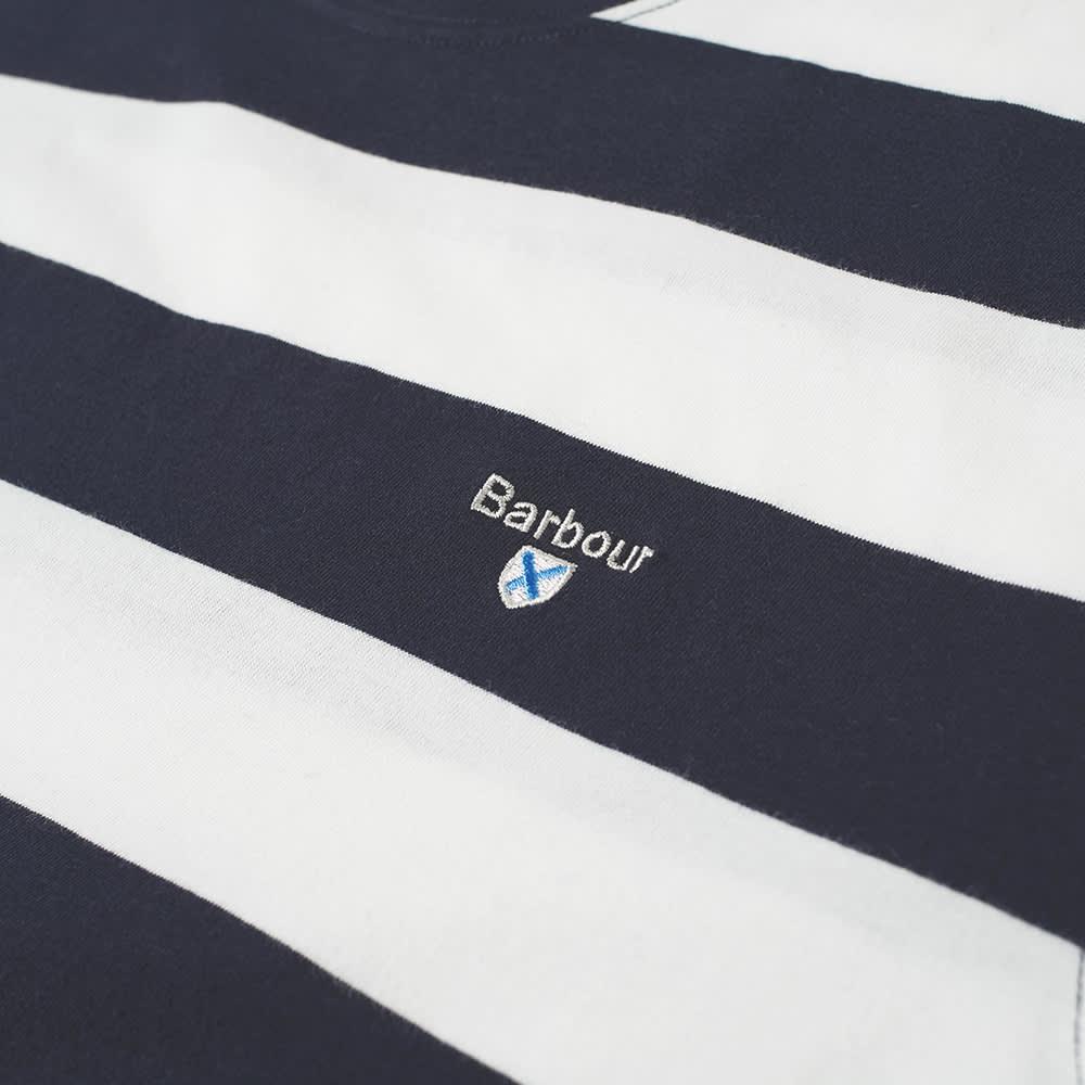 Barbour Beach Stripe Tee - Navy