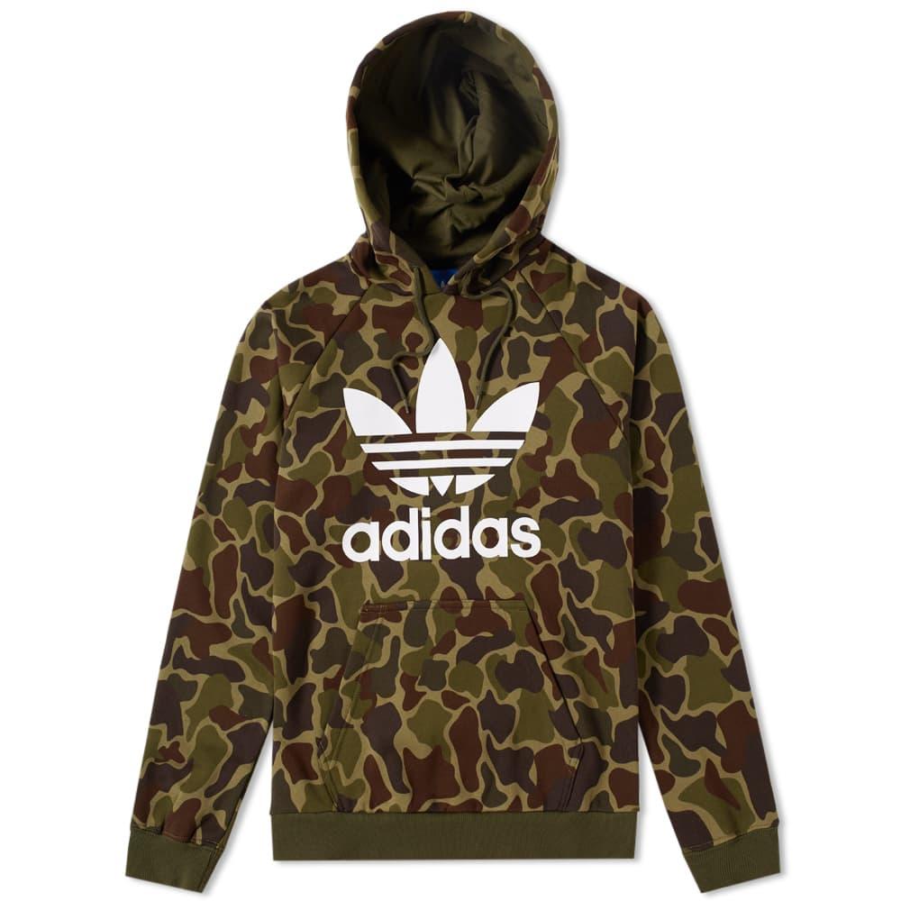 Adidas Camo Hoody - Multi