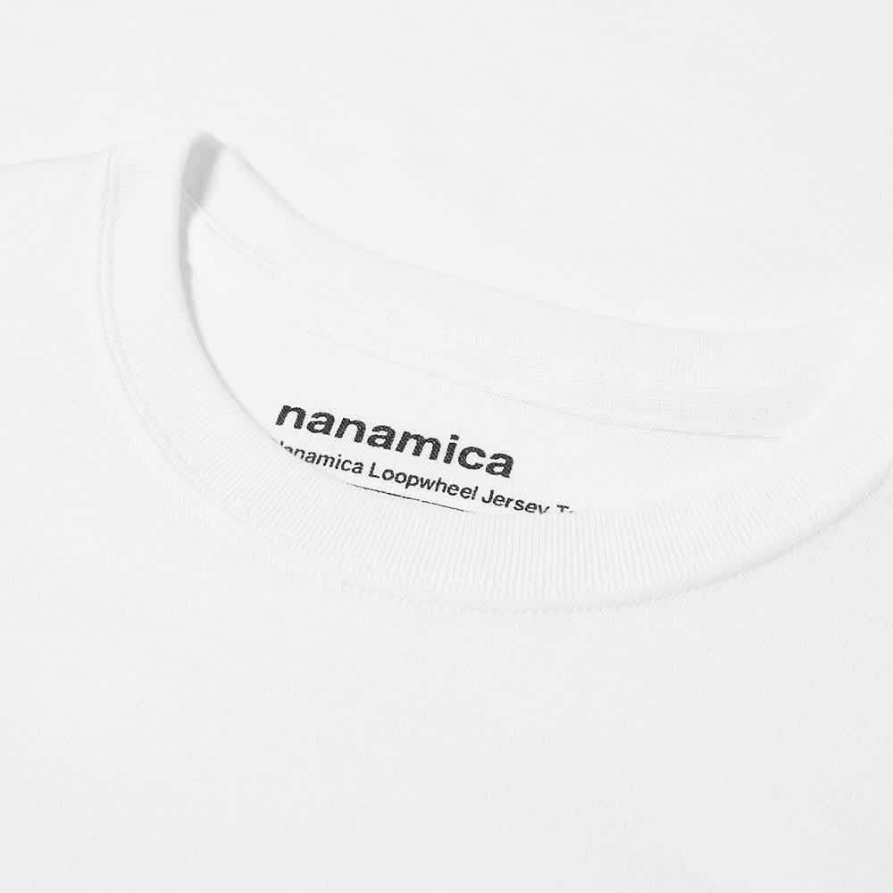 Nanamica Loopwheel Coolmax Tee - White