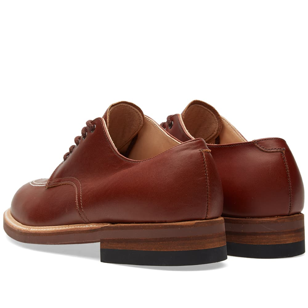 Alden Indy Shoe - Brown Calf Leather