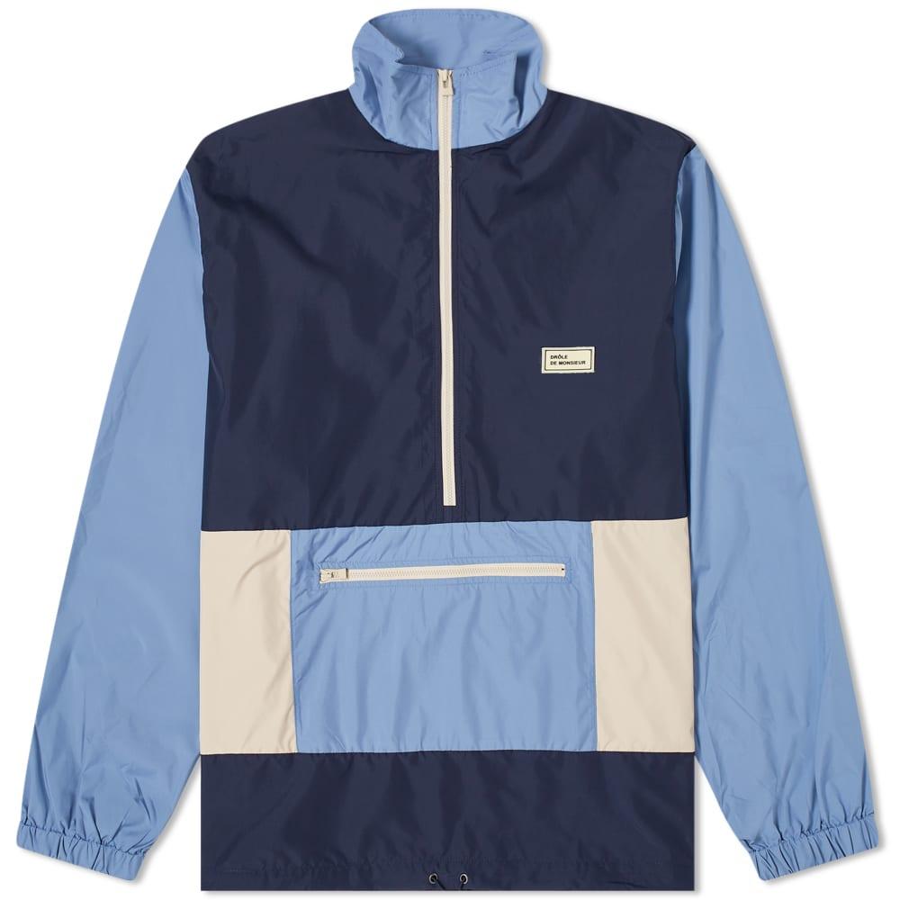 Drole de Monsieur Nylon Paneled Jacket