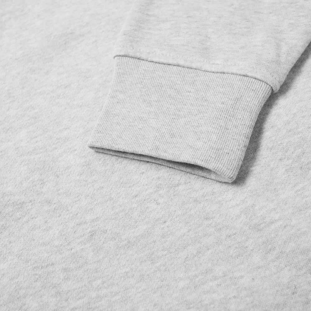 Lacoste Classic Logo Crew Sweat - Grey Marl