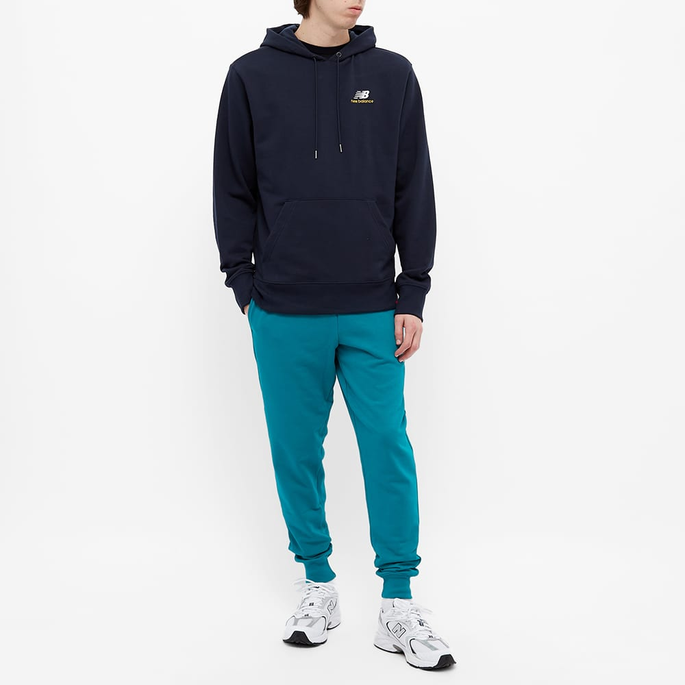 New Balance Essentials Embroidered Hoody - Eclipse