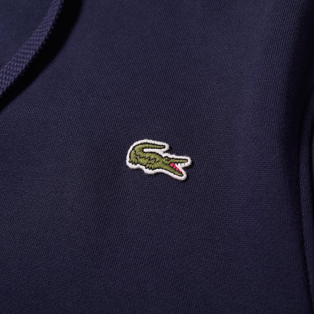 Lacoste Classic Logo Popover Hoody - Navy