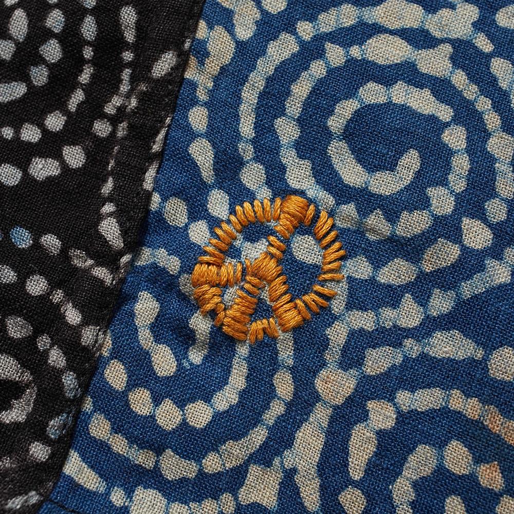 Story mfg. Spiral Print Onda Short - Indigo Bark