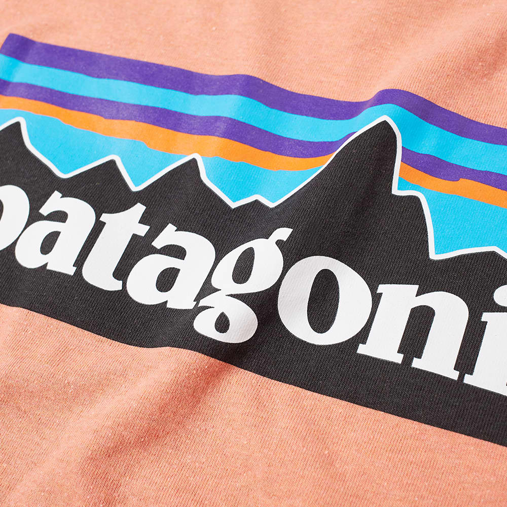 Patagonia P-6 Logo Responsibili-Tee - Coho Coral