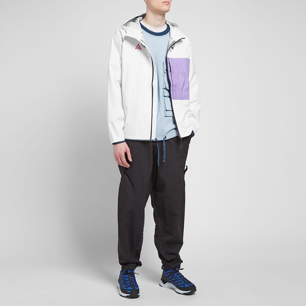 Nike ACG 2.5l Packable Jacket - Summit White & Space Purple