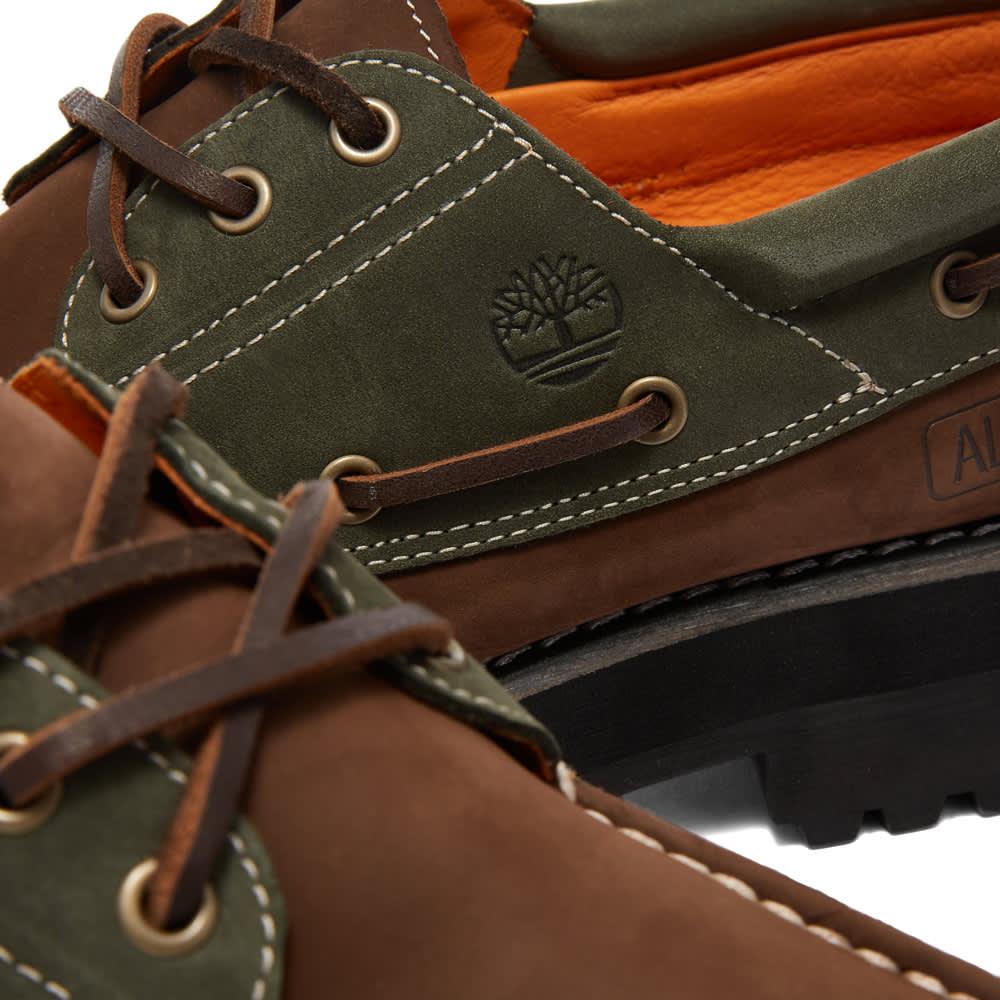 Timberland x Alife Authentic 3 Eye Lug Shoe - Brown & Green