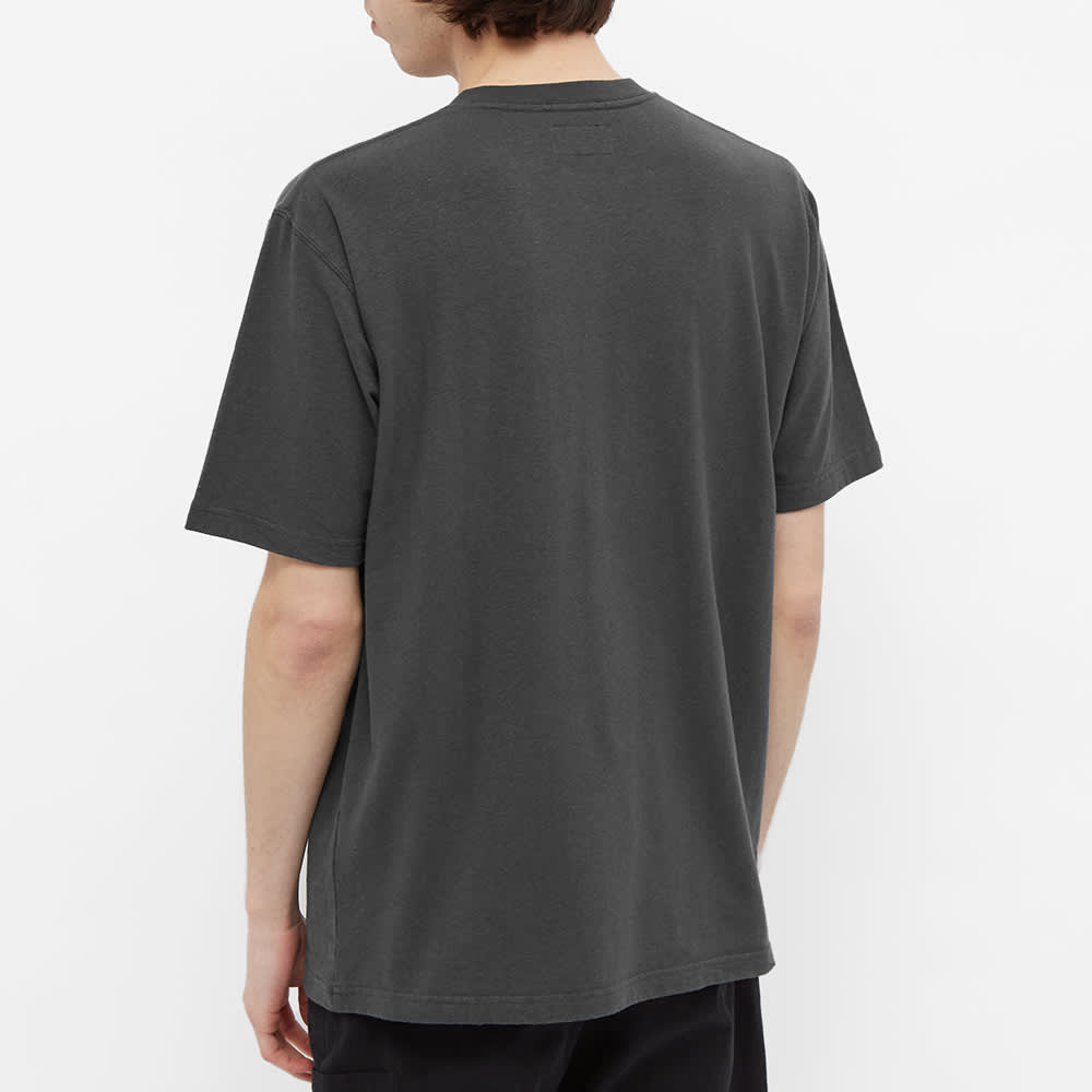 Beams Plus Hemp Cotton Pocket Tee - Charcoal Grey