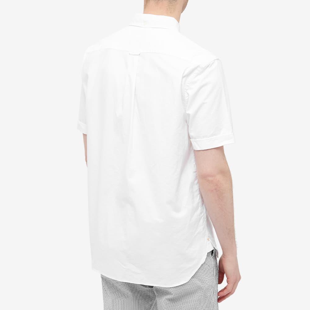 Beams Plus Short Sleeve Popover Shirt - White