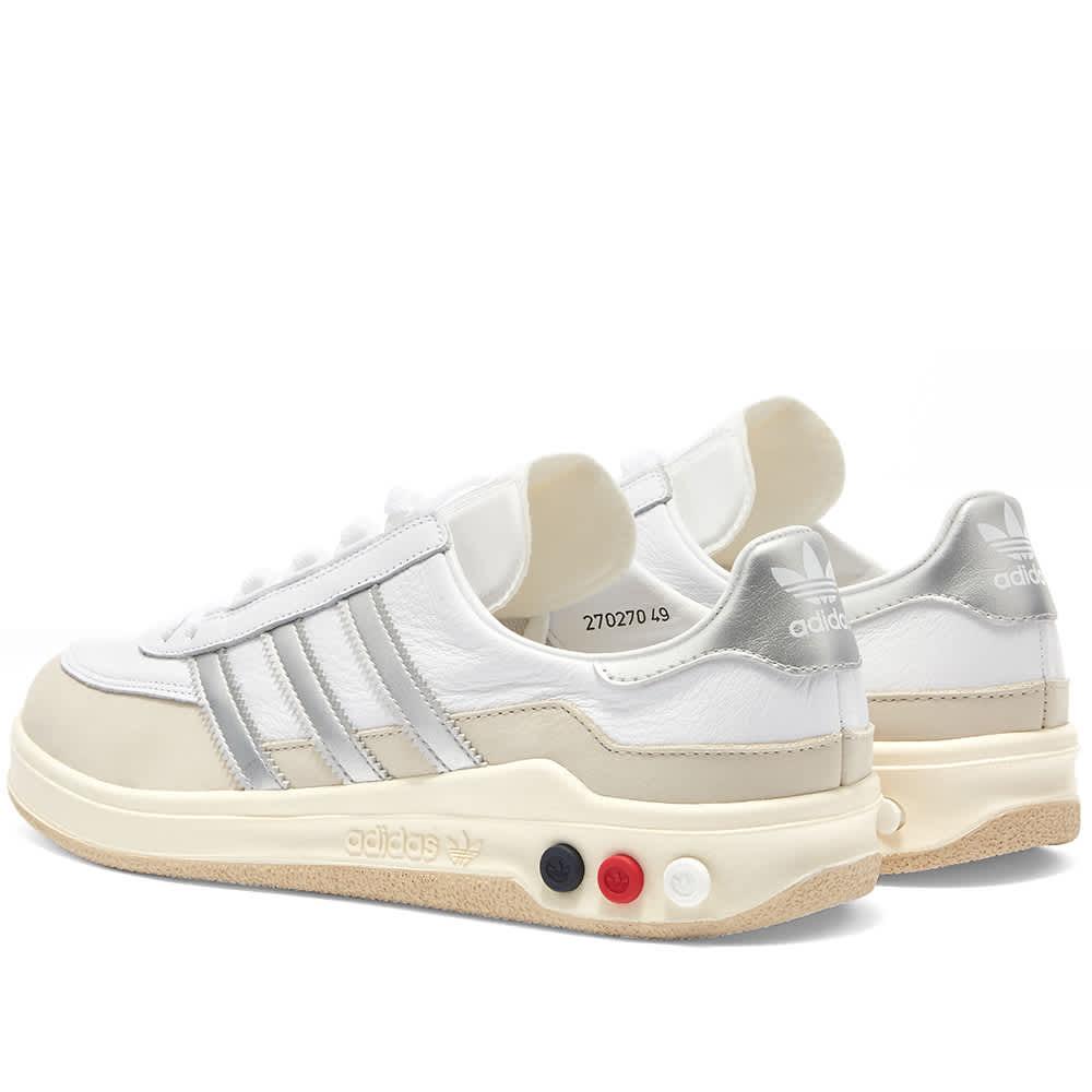 Adidas SPZL GLXY White \u0026 Silver   END.