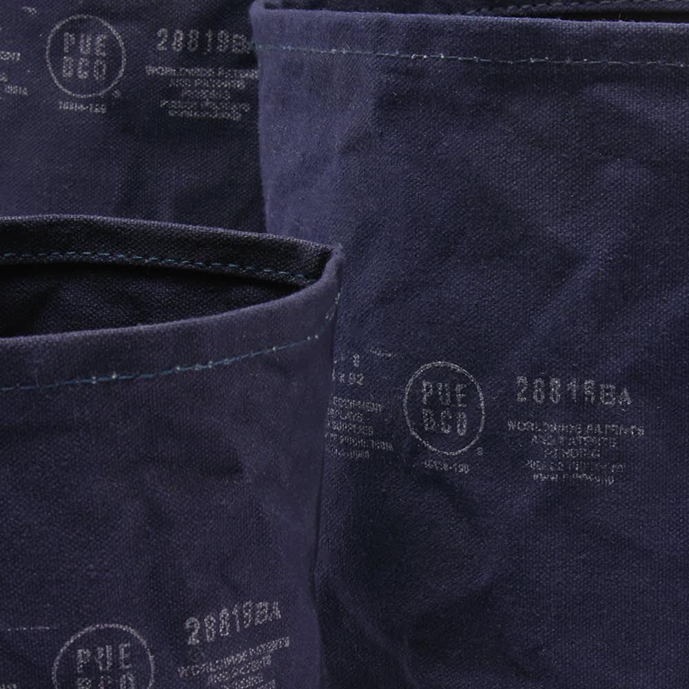 Puebco Canvas Pot Cover - Set Of 3 - Navy
