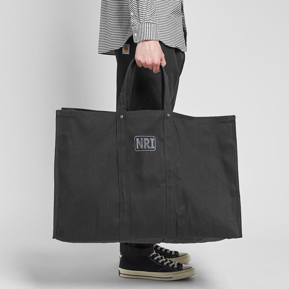 Puebco Large Labour Tote Bag - Black