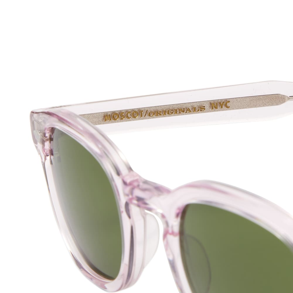 Moscot Lemtosh Sunglasses - Blush & Caliber Green