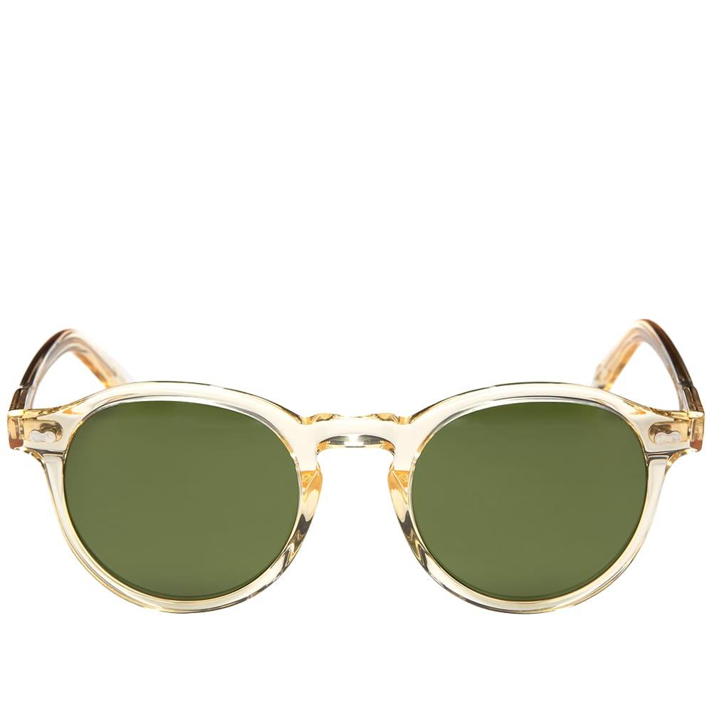 Moscot Miltzen Sunglasses  - Flesh & Green