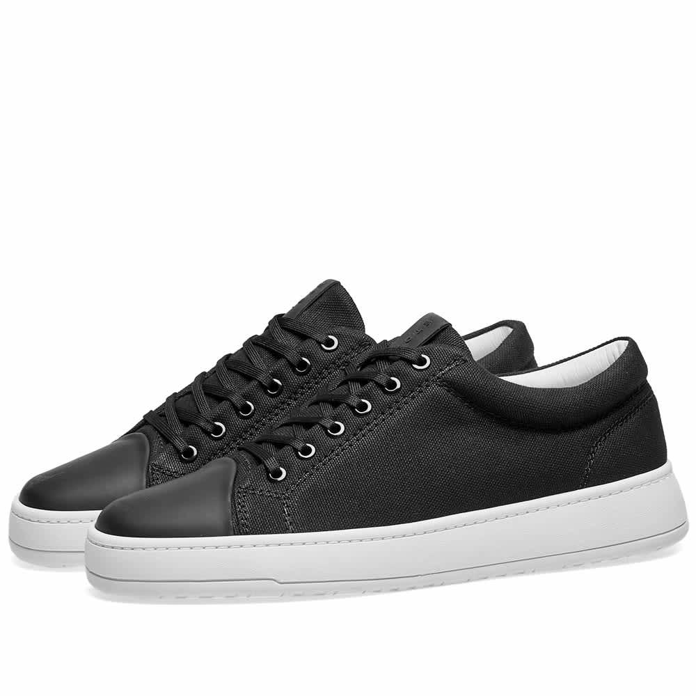 ETQ. Low Top 1 Kurashiki Canvas Sneaker - Black