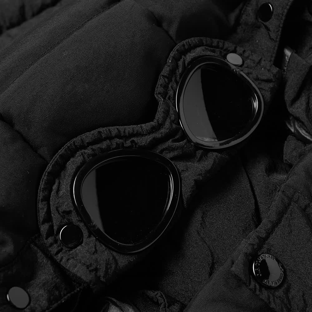 C.P. Company Undersixteen Nylon Goggle Down Jacket - Black