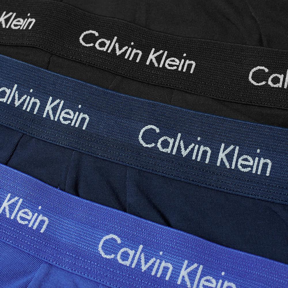 Calvin Klein Low Rise Trunk - 3 Pack - Blue, Navy & Black