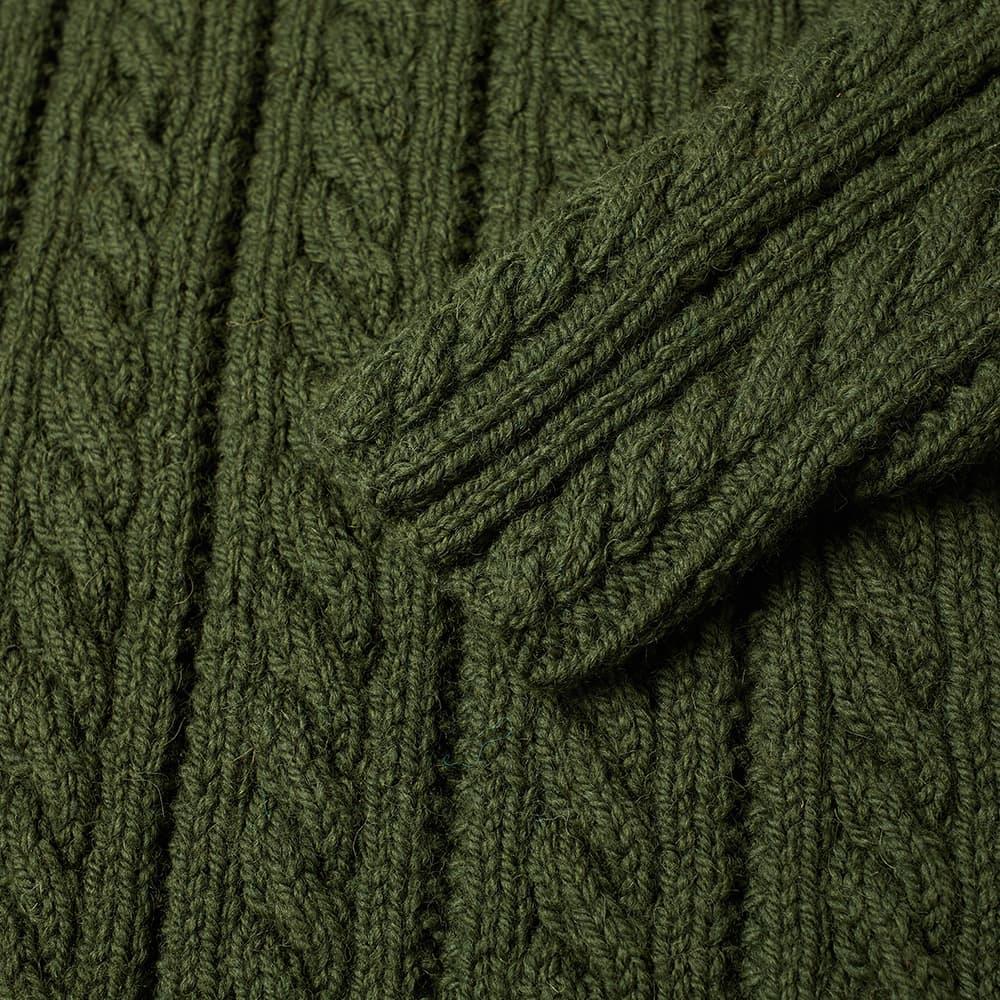 Inverallan 16P Cable Crew Knit - Loden