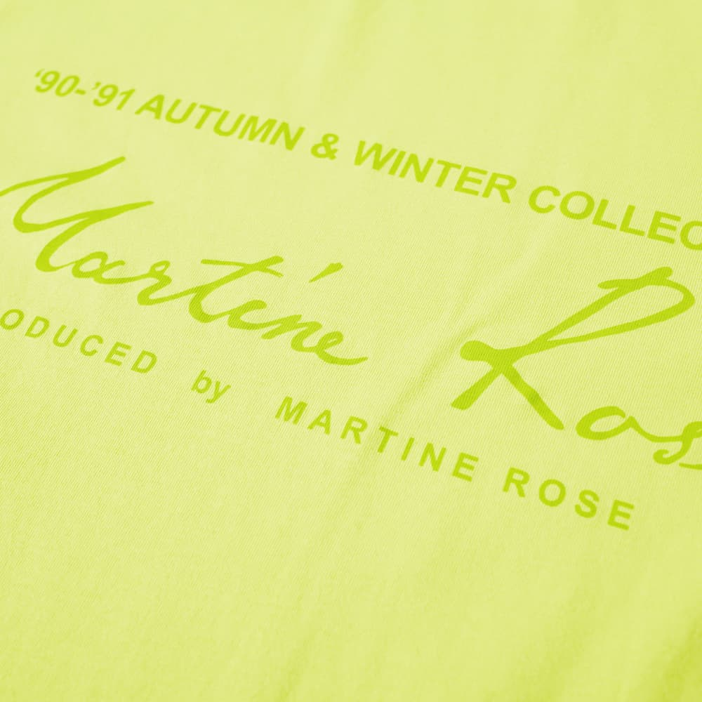 Martine Rose Classic Logo Tee - Apple Green