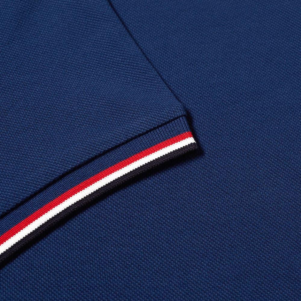 Moncler Classic Logo Polo - Teal