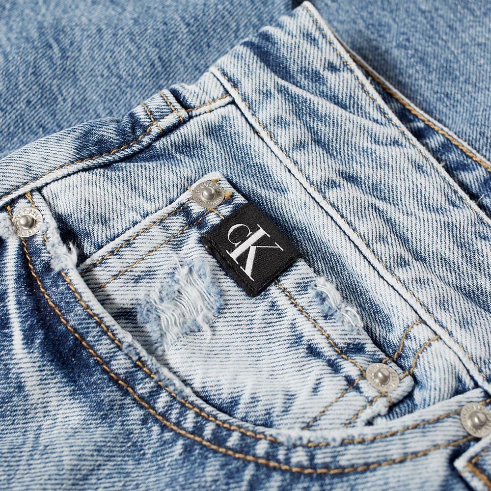 Calvin Klein Regular Distressed Jean - Light Denim