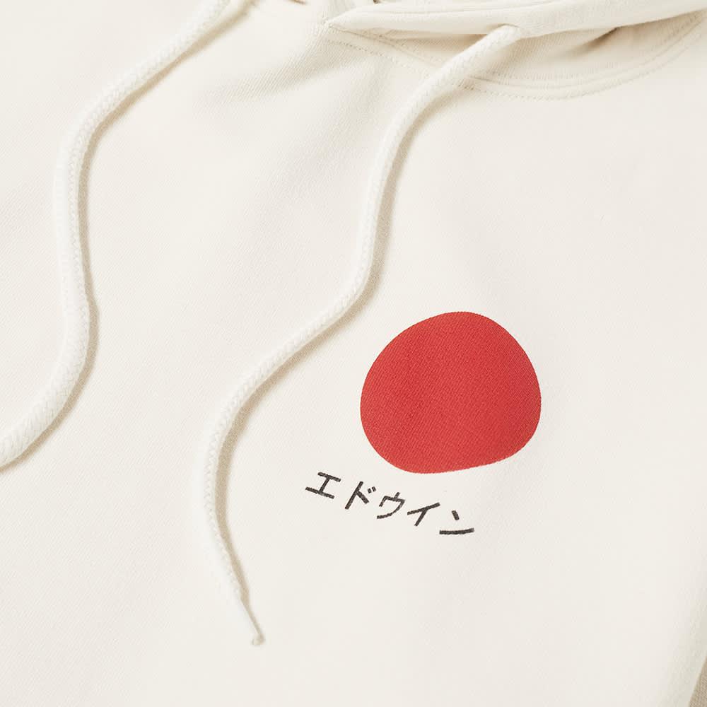 Edwin Japanese Sun Hoody - Whisper White