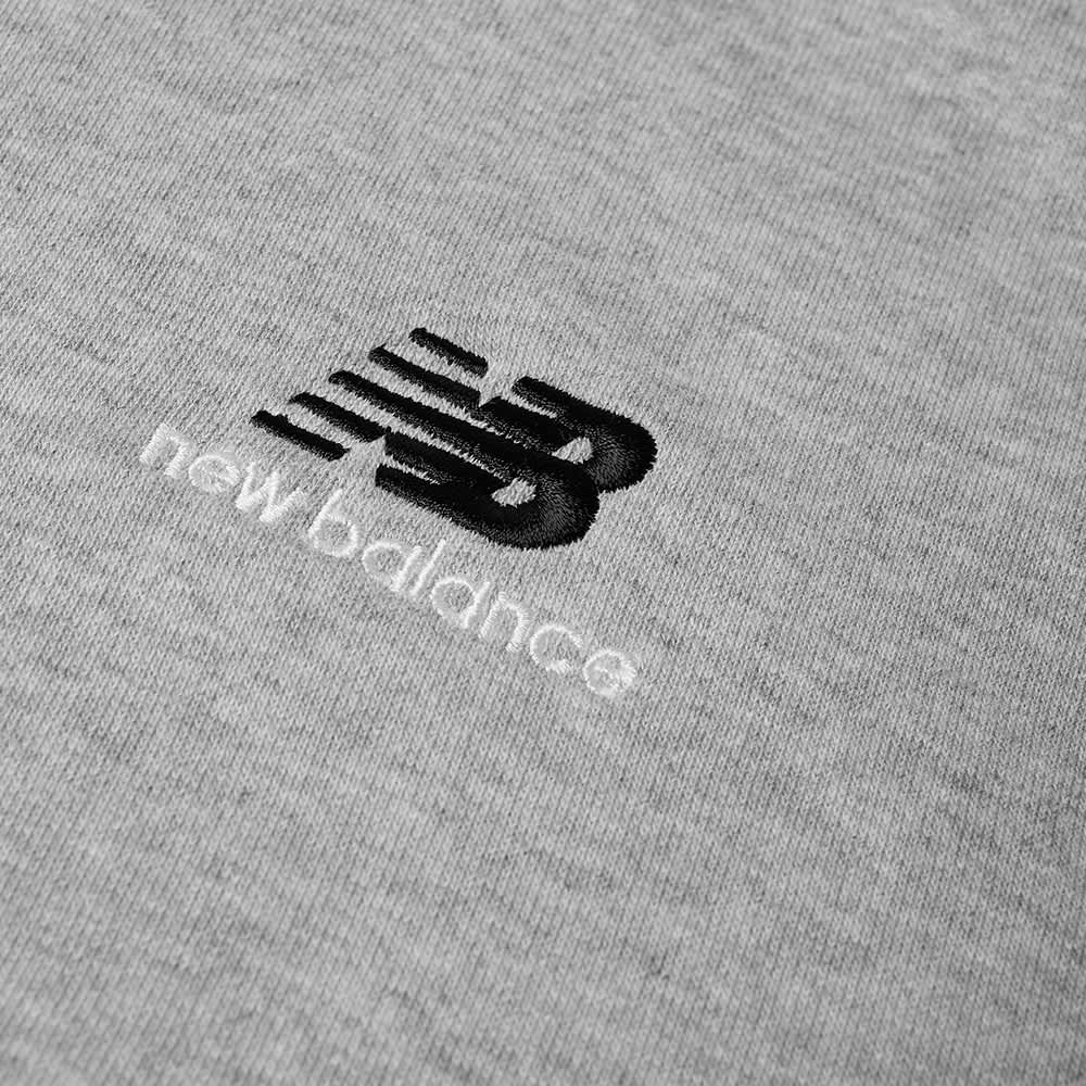 New Balance NB Essentials Embroidered Hoody - Athletic Grey