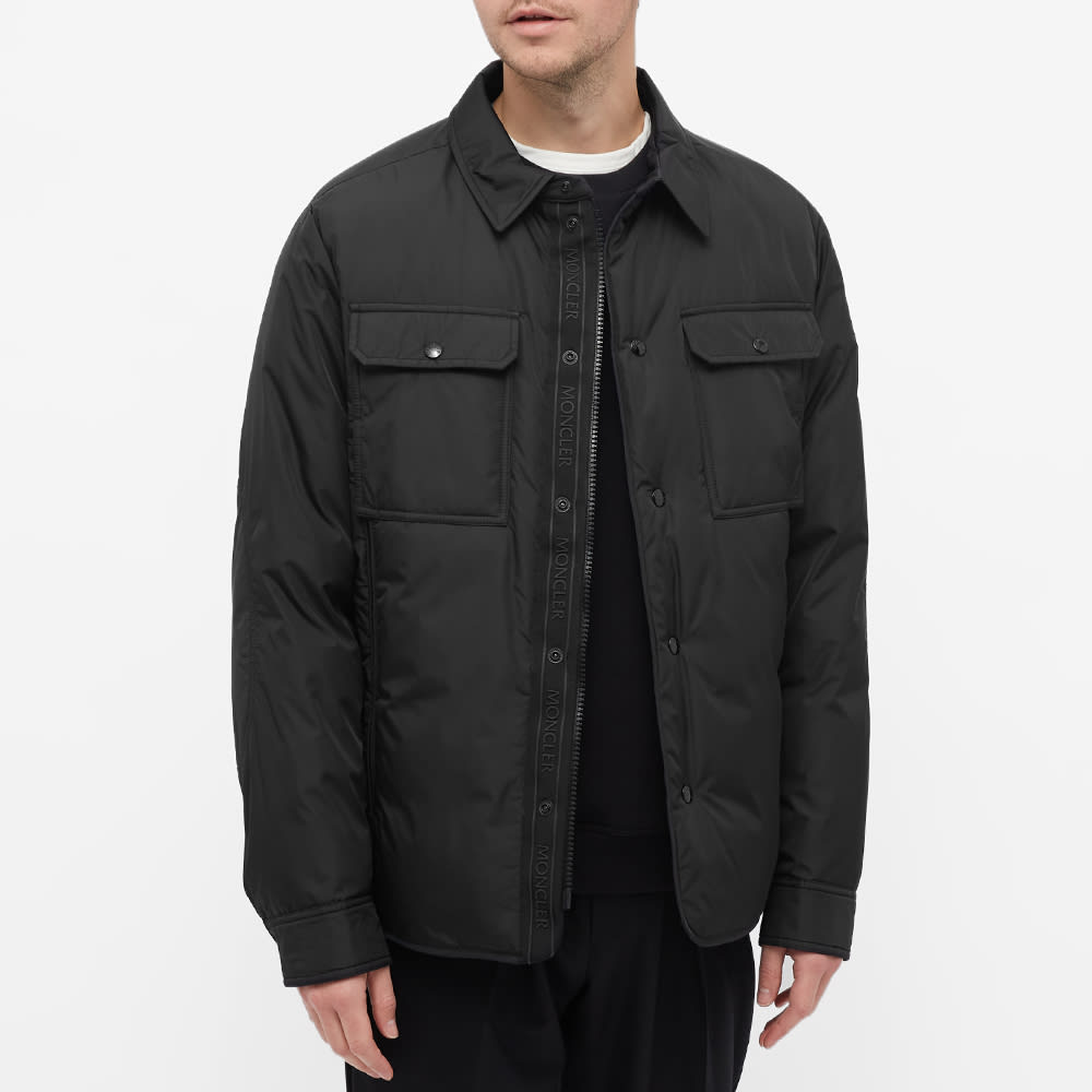 Moncler Miomandre Down Shirt Jacket - Black
