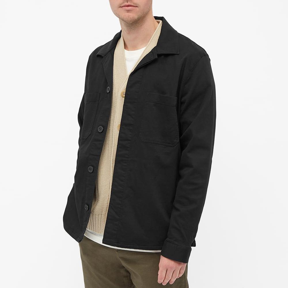 NN07 Bernie Utility Jacket - Black